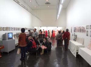 12月13、14日鎌倉生涯学習センターにて 没後70周年記念遺品展の様子